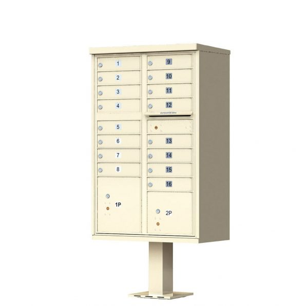 1570-16SD Florence Cluster Mailbox