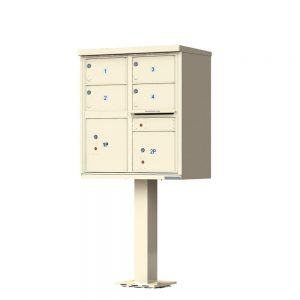 1570-T5SD Florence Cluster Mailbox
